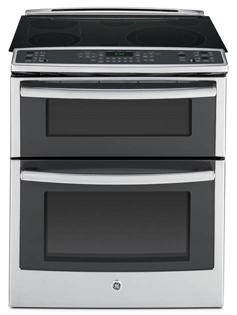 oven range ge stainless steel slide in electric oven