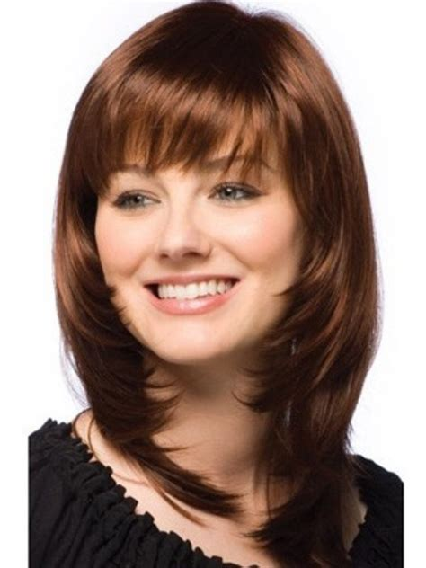 haircuts for round face medium length hair 2014 trendy medium length hairstyles for round faces