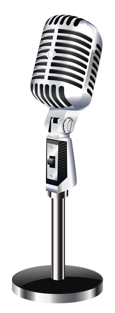microphone clipart microphone clipart vintage microphone pencil and in