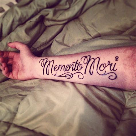 memento tattoos my memento mori tattoos best