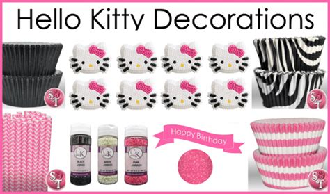 kitty cake  character decorating ideas love