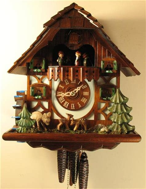 yorkie cuckoo clock cuckoo clocks on chalets clock and vibrant colors