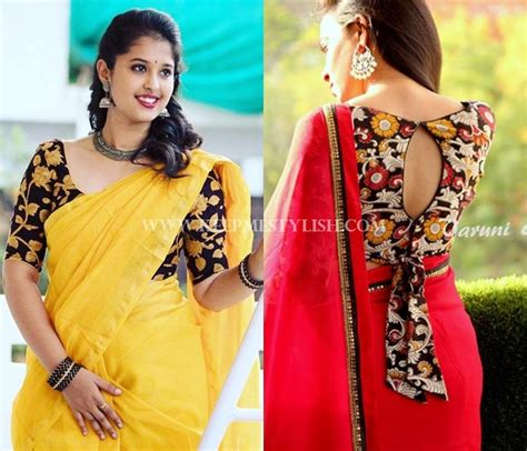 Floral Print Blouse Material For Saree by This Is Why Floral Blouses Are So For Any Saree
