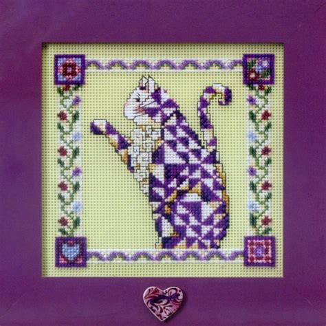 Petunia Beaded Cross Stitch Kit Mill Hill 2008 Jim Shore