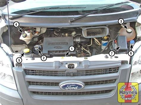 Selang Radiator Ford ford transit 2006 2013 2 2 fluid level checks
