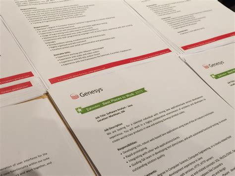 Mba Programs In Ontario Requirements by Stacks Of Genesys Description Sheets Lawyer