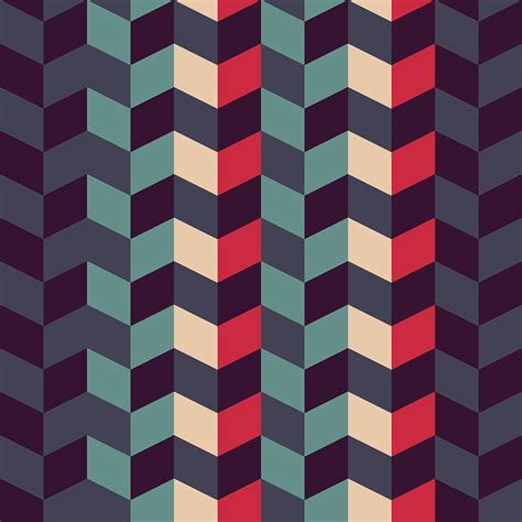 pattern of abstract abstract retro geometric pattern digital art by atthamee ni