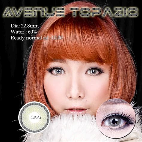 Soflens Avenue Honey Grey jual softlens avenue topazio