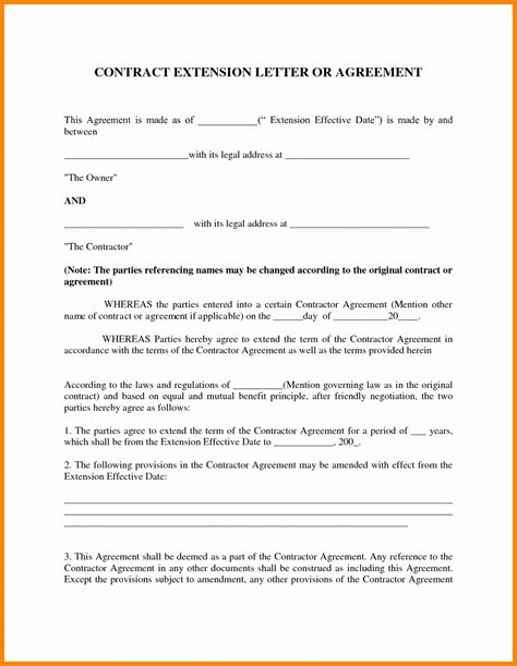 9 Contract Agreement Letter Exles Pdf Contract Agreement Letter Template