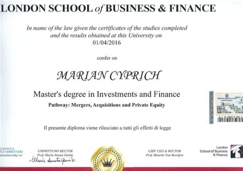 School Of Business And Finance Mba by M Sc Finance Investment School Of Business