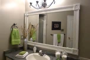 white framed bathroom mirror white framed bathroom mirrors