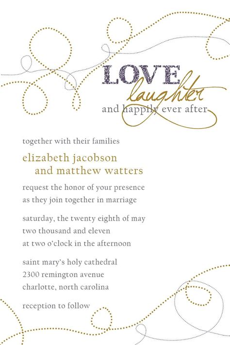 Wording Wedding Invitations by Wedding Invitation Wording Wedding Invitation Wording