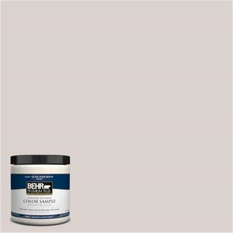 behr premium plus 8 oz n200 1 moth gray interior exterior paint sle pp10016 the home depot