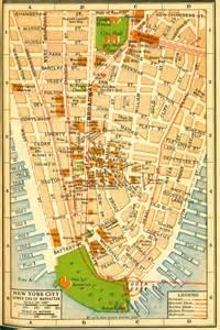 historical new york city manhattan maps