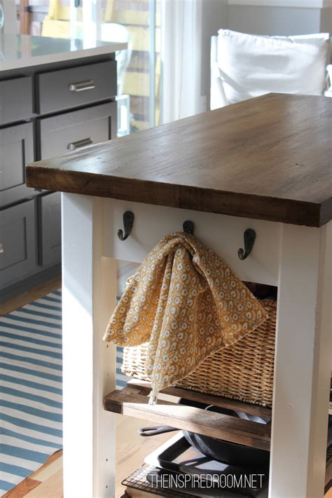 Diy Kitchen Island From Unfinished Furniture To