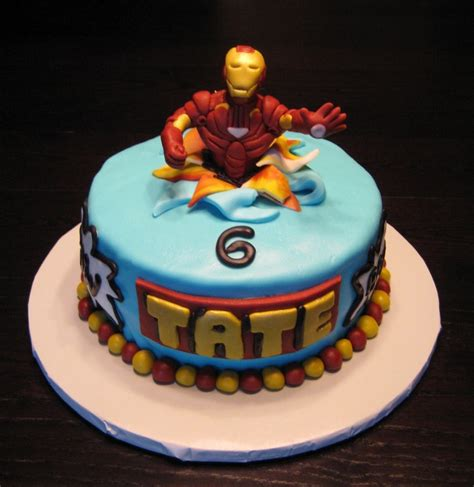 Iron Man Cakes De Ion  Ee  Ideas Ee   Little  Ee  Birthday Ee   Cakes