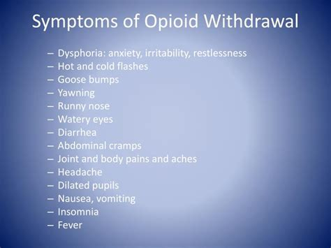 Is Feeling Feverish A Symptom Of Detoxing by Ppt Medication Assisted Treatment And Recovery With