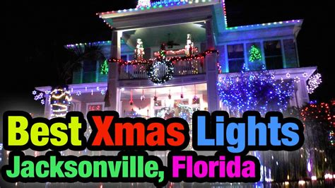 christmas light displays in florida best christmas light displays jacksonville florida 2015