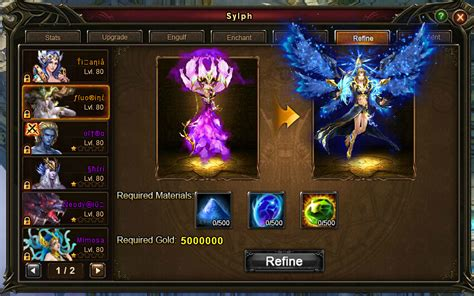 Wartune Legendary Sylph | wartune breaking news introduction of mythic sylphs