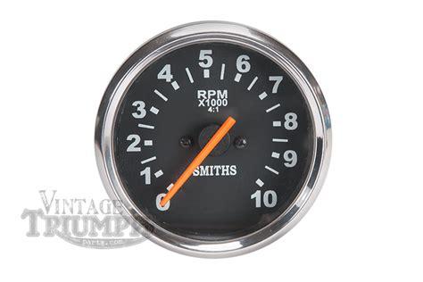 Speedometer R25 By Tiger Part tachometer triumph bsa smiths replica new