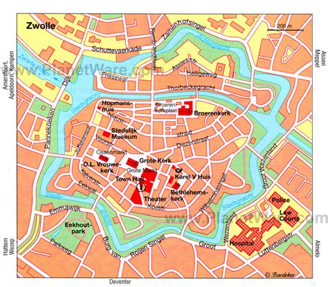 deventer netherlands map zwolle map
