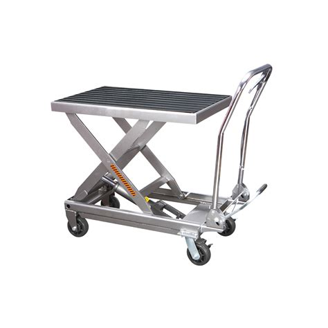 Table Cart by 1000 Lbs Capacity Hydraulic Table Cart