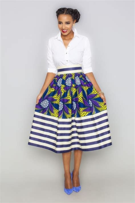 pictures of skirt sown with ankara material 25 best ideas about african print skirt on pinterest