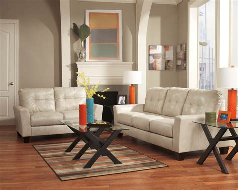 taupe living room paulie durablend taupe living room set from ashley 27000