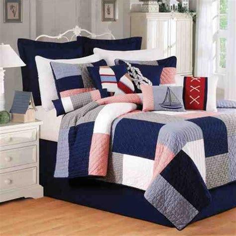 nautical bedding queen buy newport pier coastal nautical quilt luxury queen
