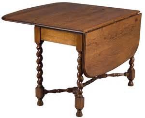 Vintage Drop Leaf Table Antique Drop Leaf Table