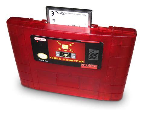 Switch Catridge 6 In 1 snes powerpak retrousb