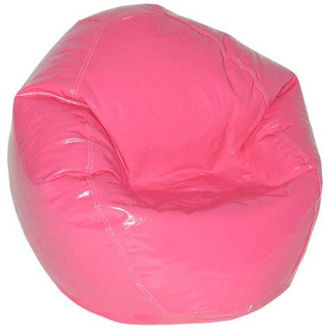 magenta vinyl bean bag chair for kids dcg stores