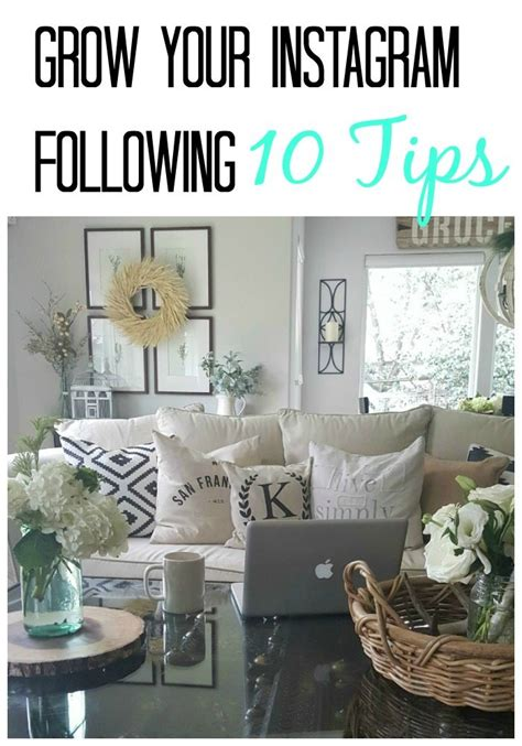 grow instagram following 10 tips the design diy