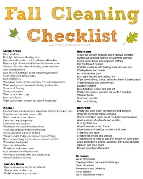 spring cleaning meaning best 25 fall cleaning checklist ideas on pinterest