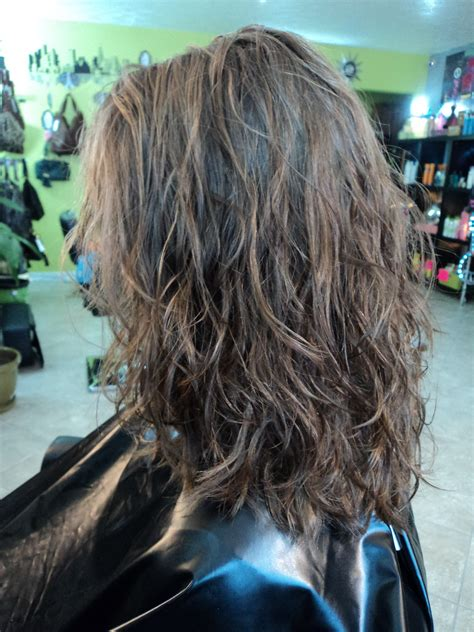 beach wave perm medium hair pravana beach wave