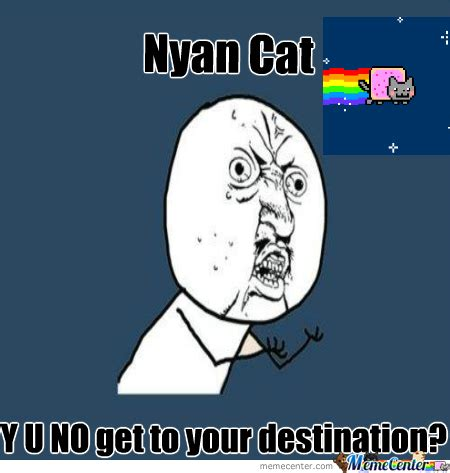 Annoying Cat Meme - nyan cat by mcrtammy meme center