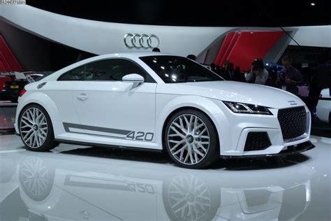 Auto Live by Genfer Salon 2014 Audi Tt Tts Und Rs Studie Tt Quattro