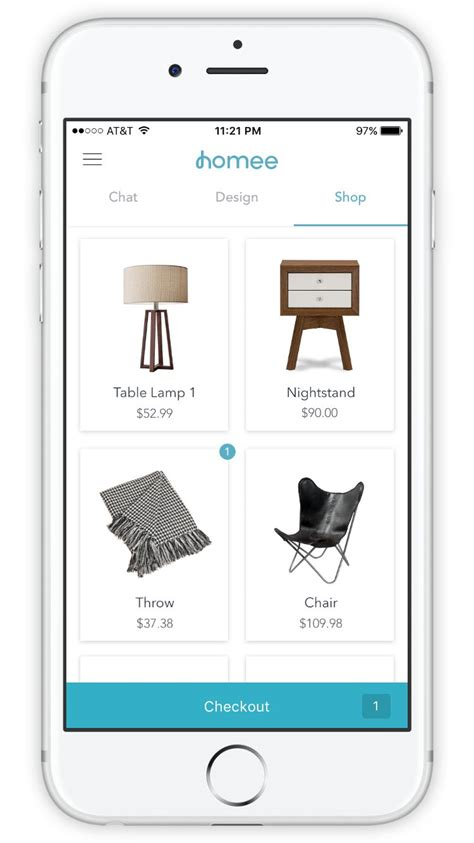 personalized interior design apps homee app