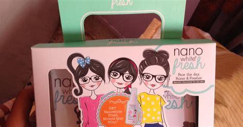 Pelembab Wajah Nano Moisturizer Spray Mist Skin Care zaiyanna zainal review nanowhite fresh elok ke