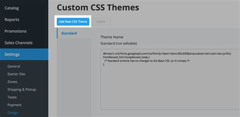 theme css creator changing your ecwid store design on your wix site ecwid
