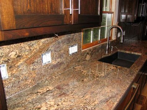 granite kitchen backsplash granite backsplash pictures and ideas
