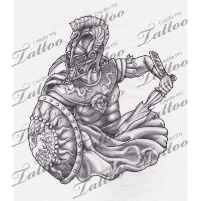 warrior tattoo designs elaxsir