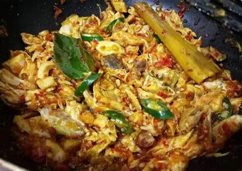 resep ayam suwir pedas manis oleh isyana  cookpad