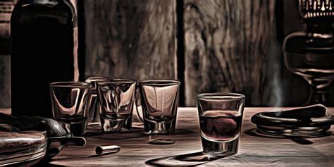 Western Bar Glasses American West Legend Whisky Glass On Western Bar