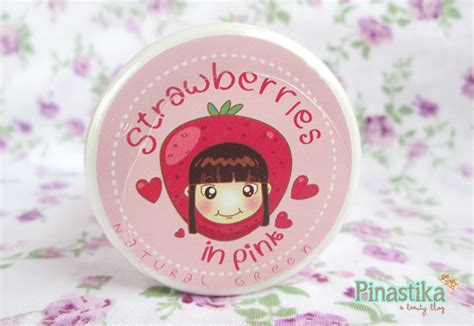 Images Masker Wajah Strawberry pinastika review green lulur