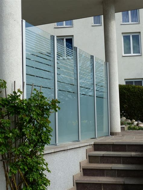 Windschutz Fr Balkon Glas Inspiration Design Familie