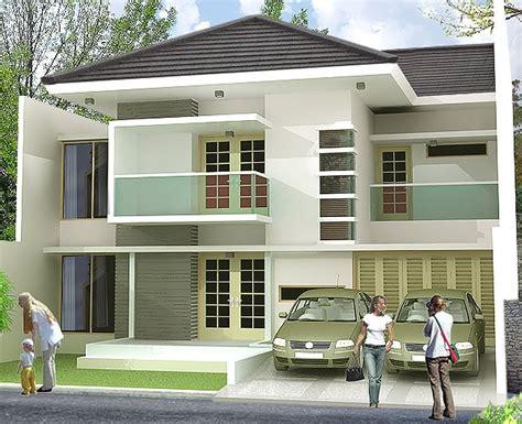 desain rumah tingkat minimalis yang keren dan elegan