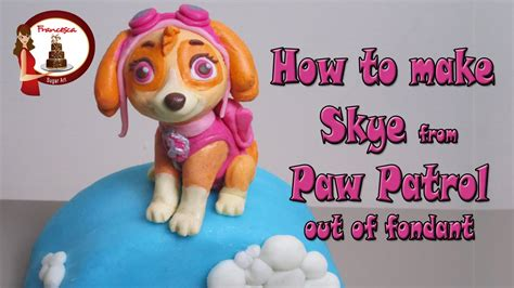 Cake Topper Besar Paw Patrol how to make from paw patrol cake topper tutorial