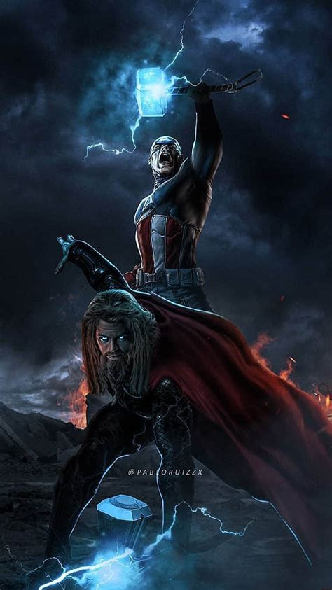 captain  thor iphone wallpaper iphone wallpapers