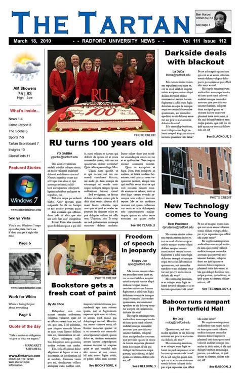 tabloid newspaper layout design photoshop best photos of broadsheet newspaper format tabloid